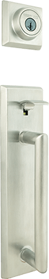 Weiser Colonnade front door hardware