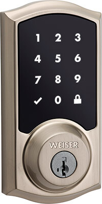 Weiser Smart Code touch system for entry doors