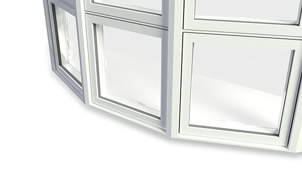 Beverley Hills bay windows feature a High-gloss finish.