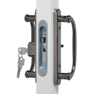 Black Nickel Patio Door Hardware