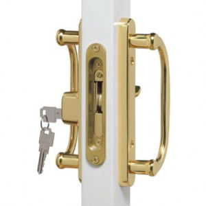 Brass Patio Door Hardware