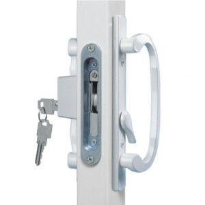 White Patio Door Hardware