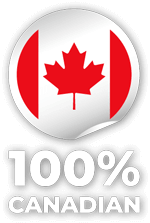 Our Products are 100% Canadian made