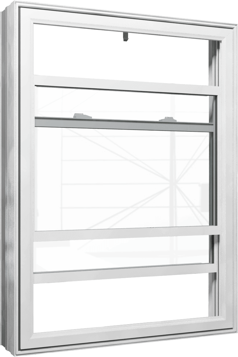 PVC Double Hung Windows
