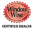 The Window Wise logo signifying Beverley Hills Windows and Doors active certification