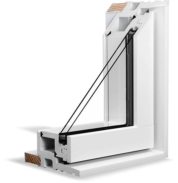 A White RevoCell® Window Section.